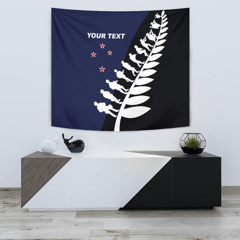 Lest We Forget Custom Tapestry Navy K5 - 1st New Zealand