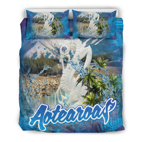 Image of Manaia Kiwiana Aotearoa Bedding Set K5 - 1st New Zealand