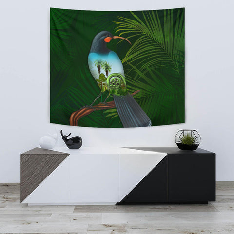 Huia Bird New Zealand Tapestry K5 - 1st New Zealand