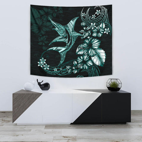 Marlin Polynesian Tapestry Hibiscus Polynesian TH5 - 1st New Zealand