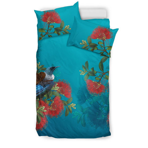 New Zealand Bedding Set, Tui Bird Duvet Cover And Pillow Case H5 - 1st New Zealand