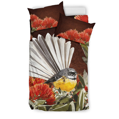 New Zealand Fantail Bedding Set K5 - 1st New Zealand