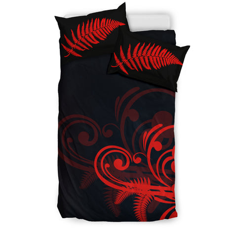 Silver Fern New Zealand Bedding Set - Red L15 - 1st New Zealand
