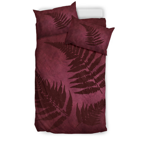 Image of New Zealand Silver Fern Bedding Set 02 A05 - 1st New Zealand