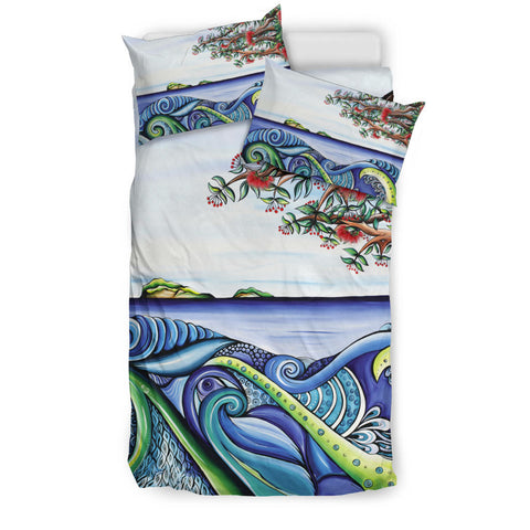 Koru Bedding Set Pohutukawa Th5