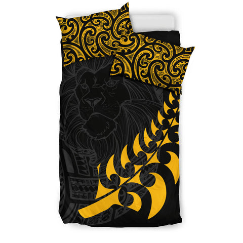 Image of New Zealand Maori Lion Rugby Bedding Set K5 - 1st New Zealand