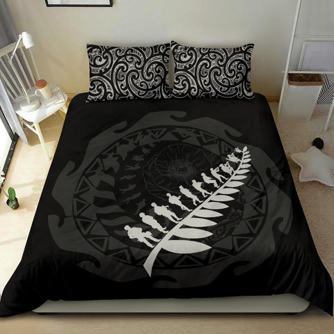 Anzac Tattoo New Zealand, Let We Forget Bedding Set - 1st New Zealand