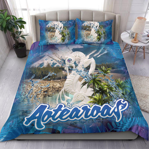 Manaia Kiwiana Aotearoa Bedding Set K5 - 1st New Zealand