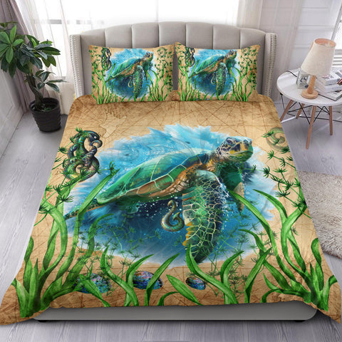 New Zealand Bedding Set Turtle Manaia Maori Vintage K4 - 1st New Zealand