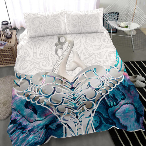 Whale Tail Manaia New Zealand Bedding Set K5 - 1st New Zealand