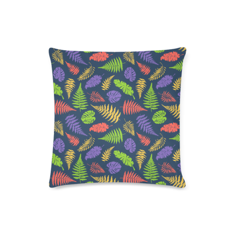 New Zealand Fern Leaves Pattern Zippered Pillow Cases 05