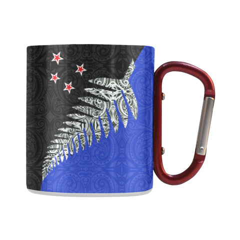 Silver Fern - New Zealand Insulated Mug K4 - 1st New Zealand