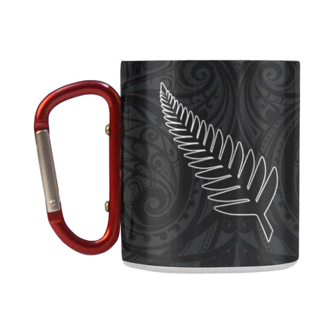 Silver Fern Rugby - New Zealand Insulated Mug K4 - 1st New Zealand