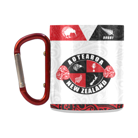 Aotearoa - New Zealand Insulated Mug K4 - 1st New Zealand