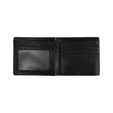 Image of Aotearoa Rugby Fern Mini Bifold Wallet Red K4