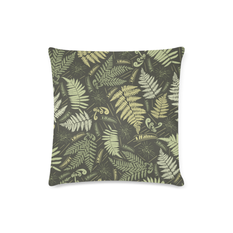 New Zealand Fern Leaves Pattern Zippered Pillow Cases 13 - 1st New Zealand