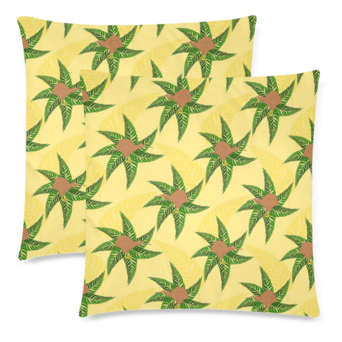New Zealand Kiwi Pattern Zippered Pillow Cases 02
