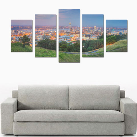 Image of New Zealand Auckland Canvas Print 05 - 1st New Zealand