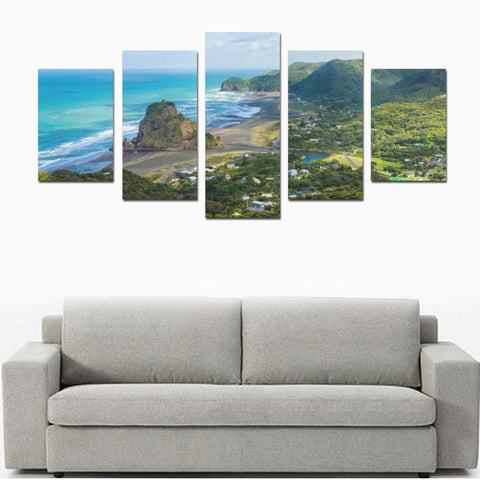 Image of New Zealand Auckland Canvas Print 02 - 1st New Zealand