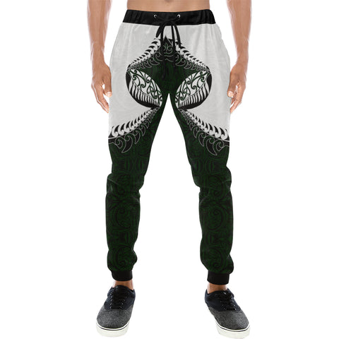Image of Rugby HaKa Style - Dark Green Sweatpants K47 - 1st New Zealand