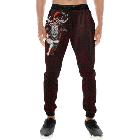 Rugby Haka Be Strong Ver - Dark Purple - sweatpants for men/women