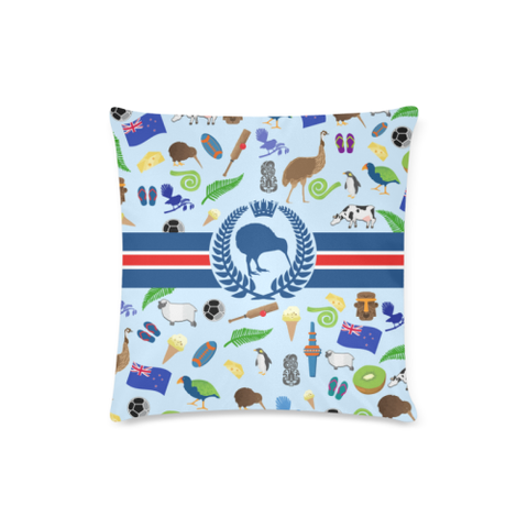 New Zealand Symbols Pillow Cover