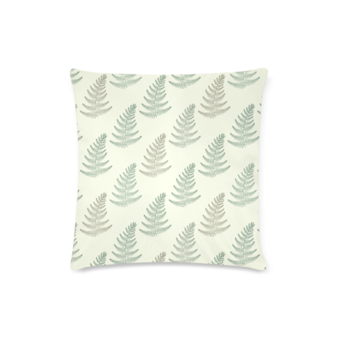 New Zealand Fern Leaves Pattern Zippered Pillow Cases 08