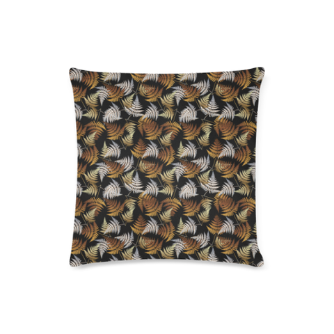 New Zealand Fern Leaves Pattern Zippered Pillow Cases 04