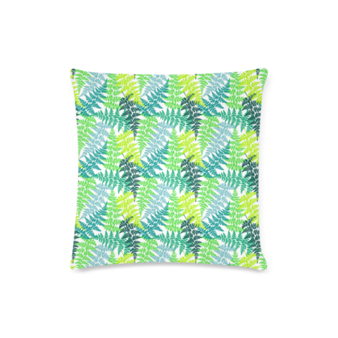 New Zealand Fern Leaves Pattern Zippered Pillow Cases 16