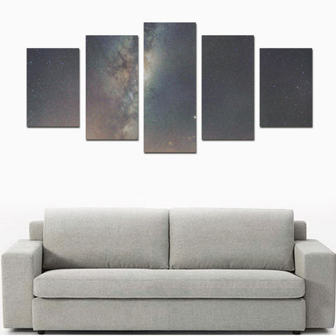 New Zealand Landscape Canvas Print - Night Sky K2 - 1st New Zealand