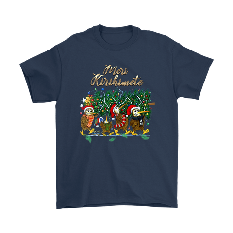 Image of New Zealand Kiwi Christmas T Shirt k5