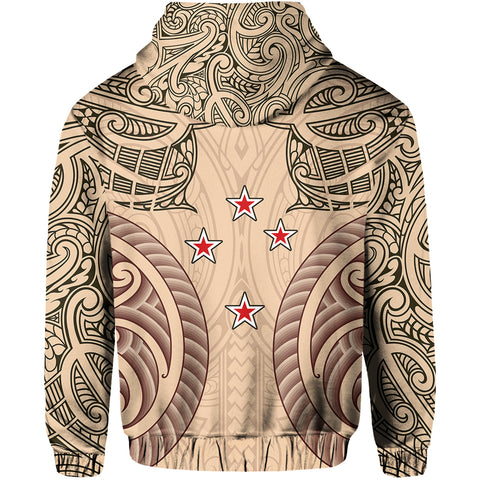 Image of Haka Moko Rugby Aotearoa Hoodie Th00 - 1st New Zealand