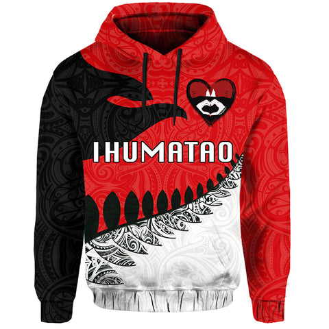 Image of Ihumatao Hoodie New Zealand front