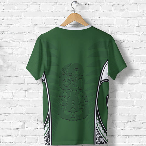 Image of Aotearoa T-shirt Hei Tiki Maori Rugby Th5 - 1st New Zealand