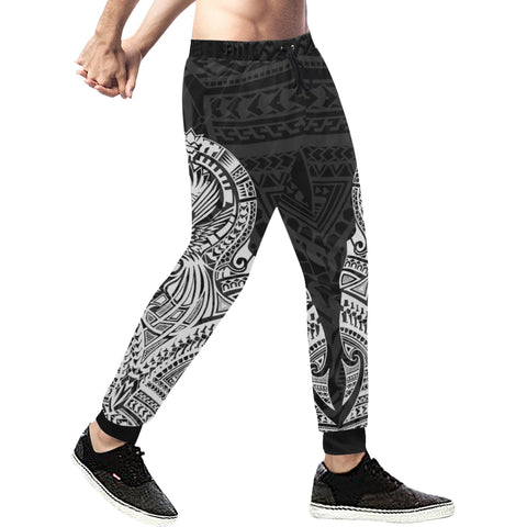 Maori Tattoo New Zealand Sweatpants White K5