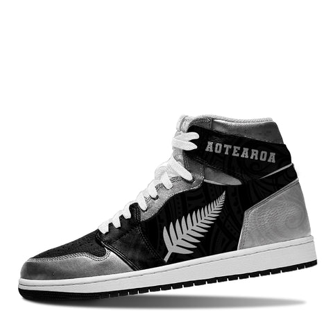 Aotearoa Basketball Shoe - Silver Fern Th5 - 1st New Zealand