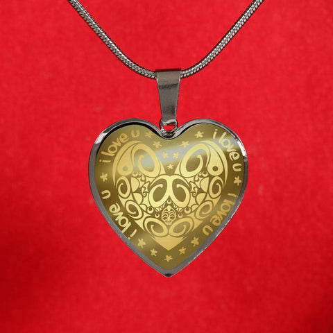 Maori Valentine New Zealand Necklace - 1st New Zealand