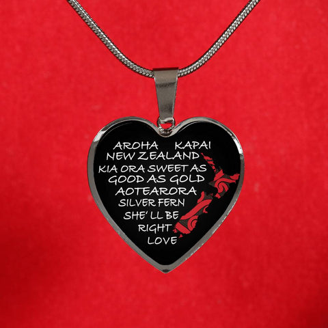 New Zealand Aroha Necklace K4 - 1st New Zealand