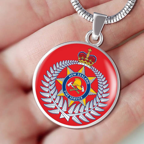 New Zealand Firefighter Necklace K4 - 1st New Zealand
