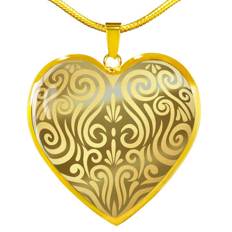 Golden Maori New Zealand Necklace - 1st New Zealand