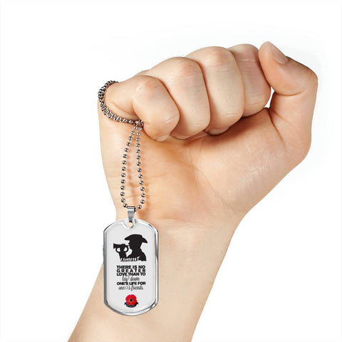 Lest We Forget - New Zealand Dog Tag 02 K5 - 1st New Zealand