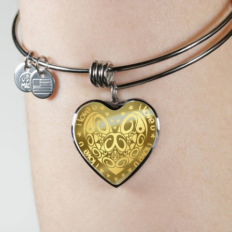 New Zealand Jewelry Maori Valentine ™ Bangle - 1st New Zealand