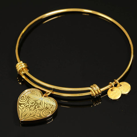 New Zealand Jewelry Golden Maori Bangle - 1st New Zealand