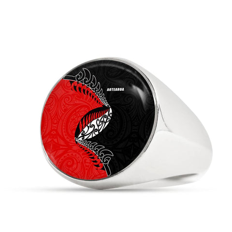 Aotearoa Rugby Fern Ring K4 - 1st New Zealand