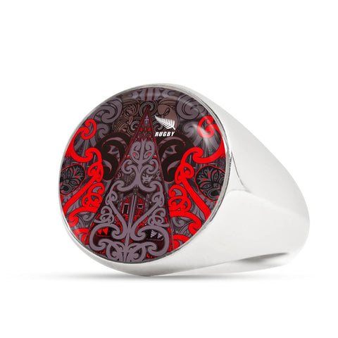 New Zealand Maori Rugby Ring K4 - 1st New Zealand