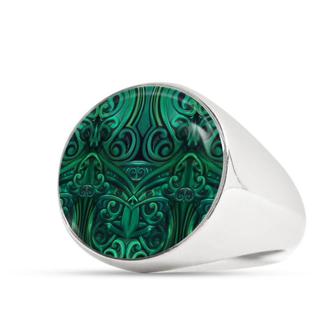 New Zealand Warriors Ring Green K4 - 1st New Zealand