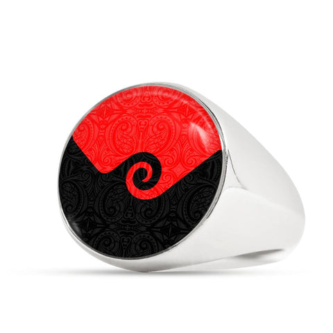 Koru New Zealand Ring K4 - 1st New Zealand