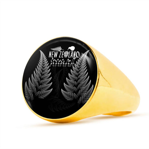 NZ Ring Haka Rugby Exclusive Edition K4 - 1st New Zealand