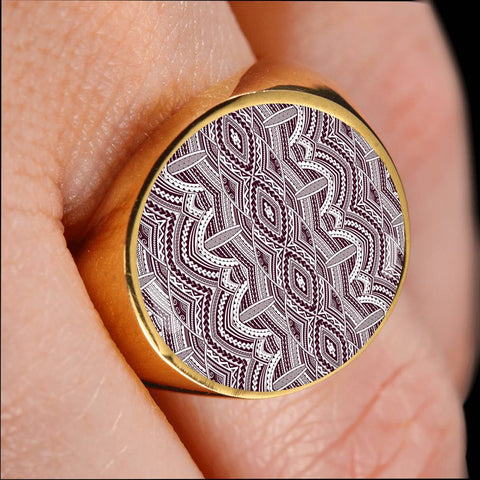 Maori New Zealand Ring 14 K5