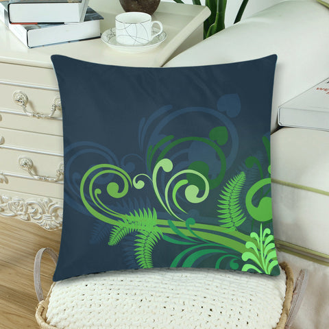 Image of Silver Fern New Zealand Zippered Pillow Case - 1st New Zealand